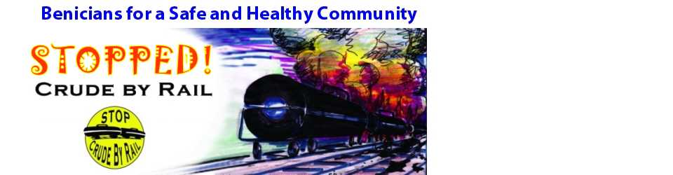 Safe Benicia – Stop Crude by Rail